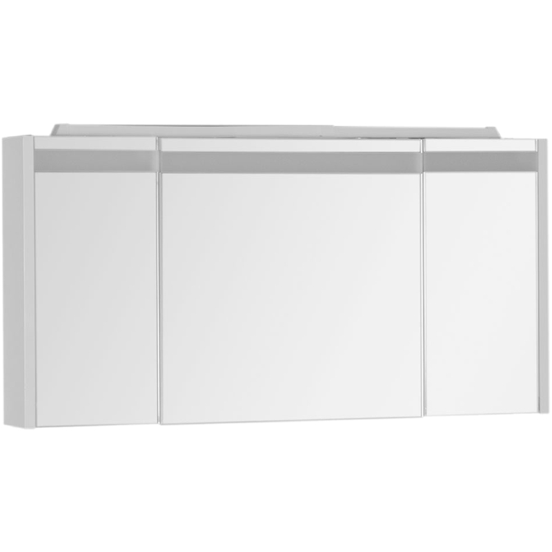 Зеркальный шкаф Aquanet Лайн 120 164935 с подсветкой Белый недорого
