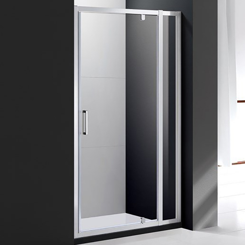 Душевая дверь Cezares Molveno BA-11 130 MOLVENO-BA-11-100+30-C-Cr-IV профиль Хром стекло прозрачное фото