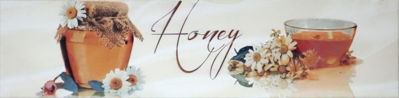 Керамический декор Monopole Ceramica Sweet Honey 10х40 см