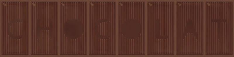 Керамический декор Monopole Ceramica Chocolate Alpes 10х40 см