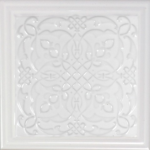 Керамический декор Monopole Ceramica Armonia B Blanco 15x15см керамическая плитка monopole ceramica armonia b blanco 15x15 декор