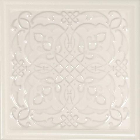 Керамический декор Monopole Ceramica Armonia B Marfil 15x15см керамическая плитка monopole ceramica armonia c blanco 15x15 декор