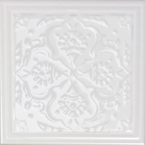 Керамический декор Monopole Ceramica Armonia C Blanco 15x15см керамическая плитка monopole ceramica armonia b blanco 15x15 декор