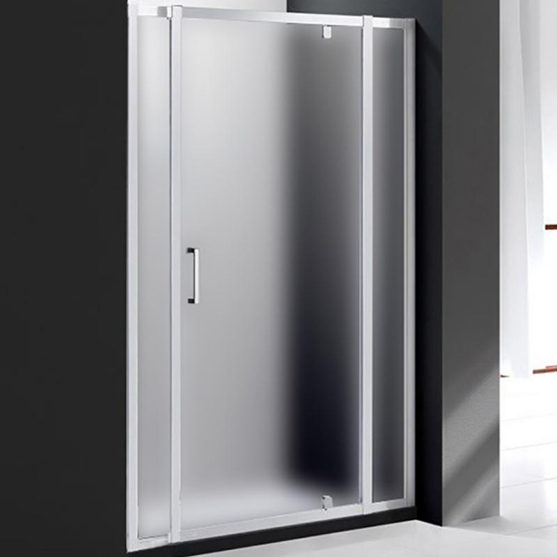 Душевая дверь Cezares Molveno BA-12 130 MOLVENO-BA-12-80+50-P-Cr профиль Хром стекло рифленое фото