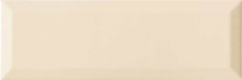 Керамическая плитка Monopole Ceramica Gourmet/Romantic Brillo Bisel Crema настенная 10х30 см керамический декор monopole ceramica gourmet romantic dolce vita miele 10х30 см
