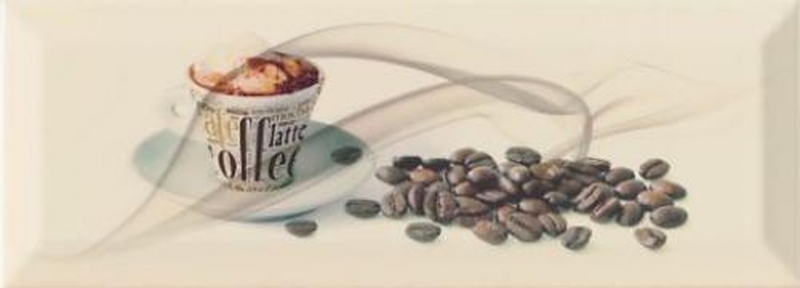 Керамический декор Monopole Ceramica Gourmet/Romantic Cafe 10х30 см керамический декор monopole ceramica gourmet romantic dolce vita miele 10х30 см