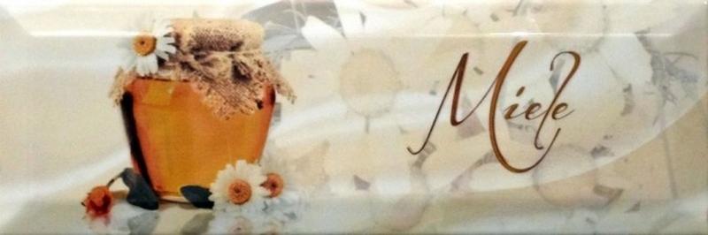 Керамический декор Monopole Ceramica Gourmet/Romantic Dolce Vita Miele 10х30 см керамический декор monopole ceramica gourmet romantic dolce vita miele 10х30 см