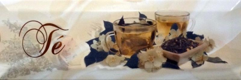 Керамический декор Monopole Ceramica Gourmet/Romantic Dolce Vita Te 10х30 см керамический декор monopole ceramica gourmet romantic dolce vita miele 10х30 см