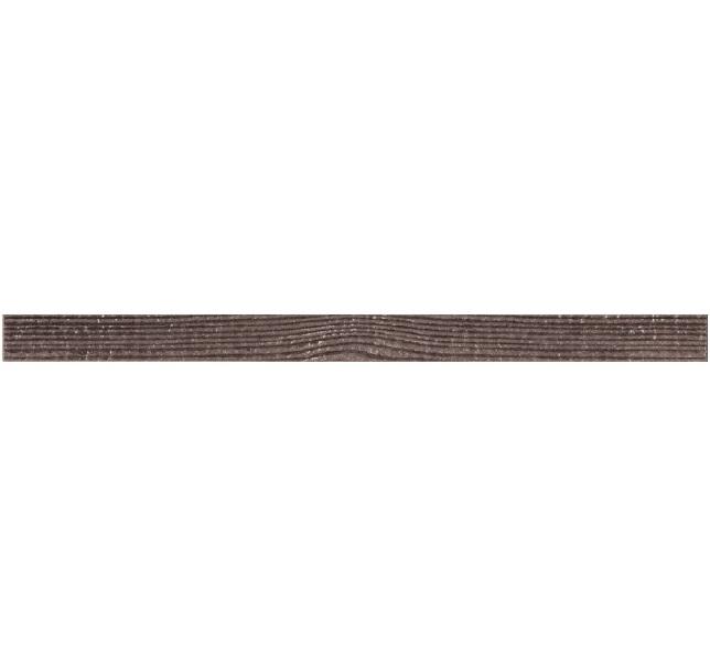 Керамический бордюр Naxos Ceramica Clio Listello Brown 3x45 см