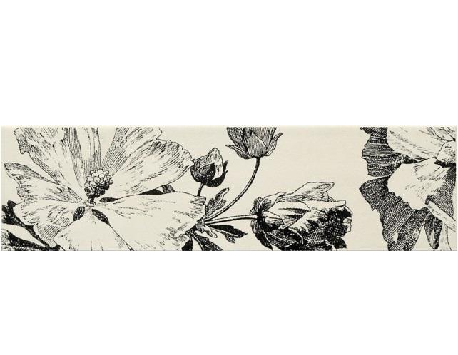 цена на Керамический бордюр Naxos Ceramica Euphoria Listello Campanula Mix 12,5x45 см