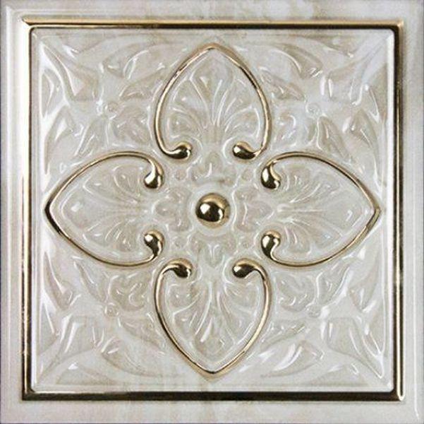 Керамический декор Monopole Ceramica Petra Armonia Gold A 15х15 см керамическая плитка monopole ceramica armonia b blanco 15x15 декор