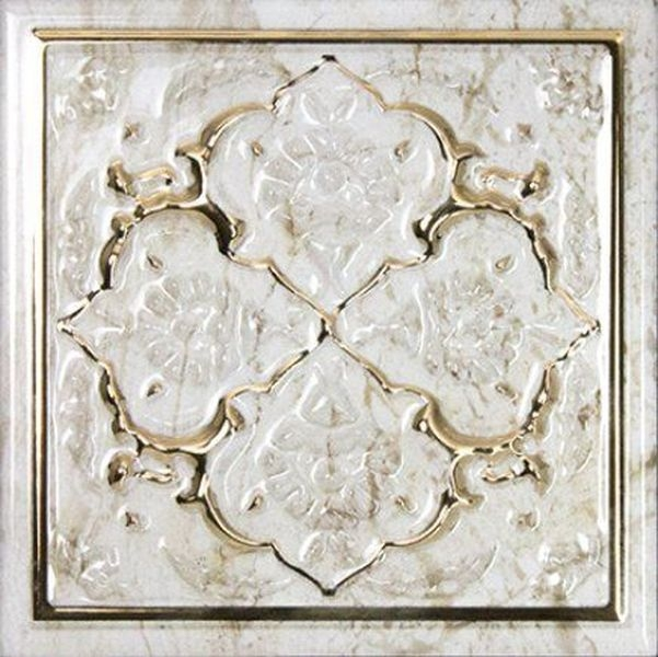 Керамический декор Monopole Ceramica Petra Armonia Gold C 15х15 см керамическая плитка monopole ceramica armonia b blanco 15x15 декор