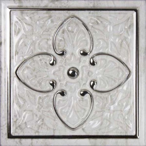Керамический декор Monopole Ceramica Petra Armonia Silver A 15х15 см керамическая плитка monopole ceramica armonia b blanco 15x15 декор
