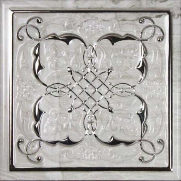 Керамический декор Monopole Ceramica Petra Armonia Silver B 15х15 см керамическая плитка monopole ceramica armonia b blanco 15x15 декор