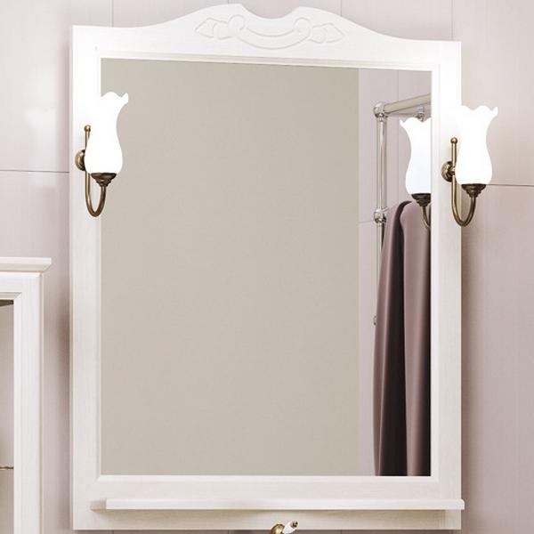 Фото - Зеркало Opadiris Клио 70 Z0000002645 Беленый бук мебель для ванной opadiris риспекто 105 беленый бук