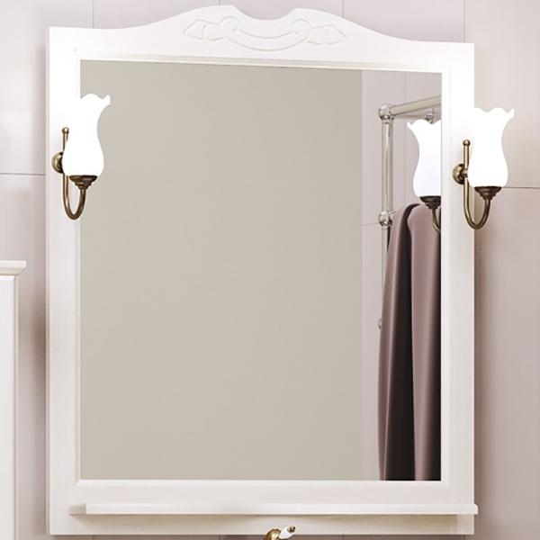 Фото - Зеркало Opadiris Клио 80 Z0000000859 Беленый бук мебель для ванной opadiris риспекто 105 беленый бук