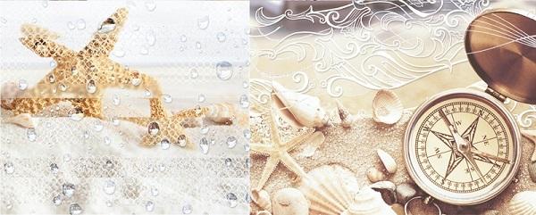 Керамический декор Azori Caliza Mare 1 20.1x50.5см