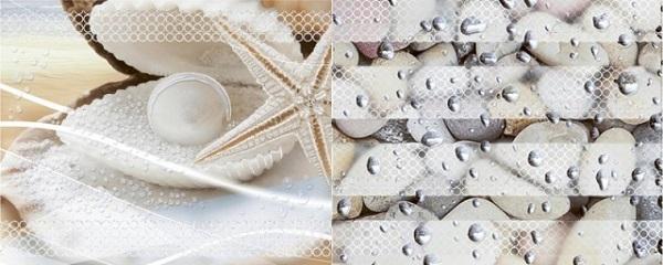 Керамический декор Azori Caliza Mare 3 20.1x50.5см