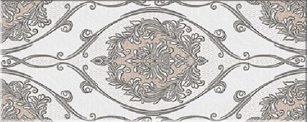 Керамический декор Azori Chateau Mocca Classic 20.1x50.5см фото