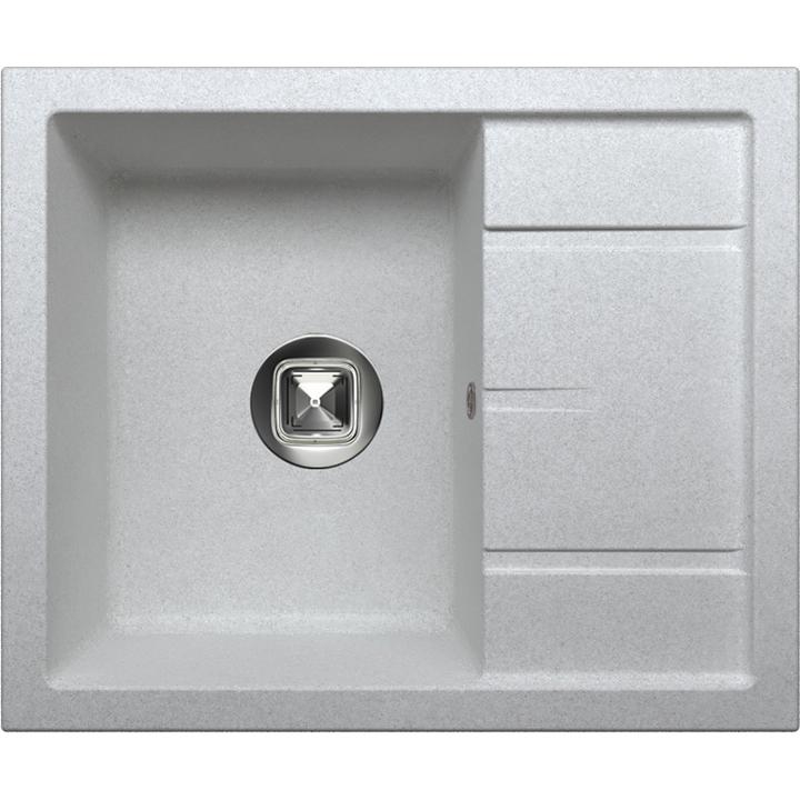 Кухонная мойка Tolero R-107 №001 60 Cерый металлик