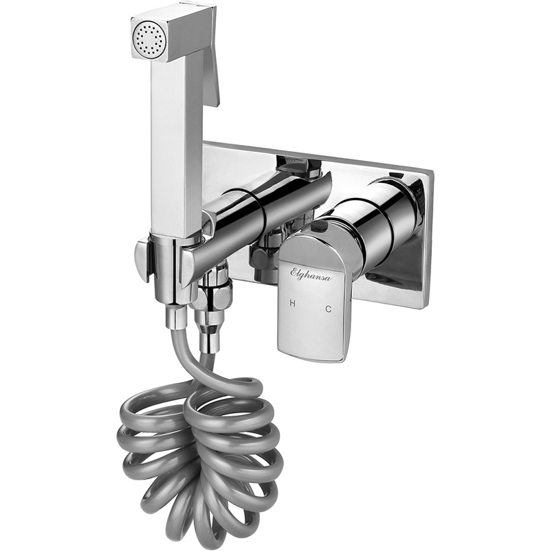 Гигиенический душ со смесителем Elghansa Concealed 12Q0888 (Set-62) Хром