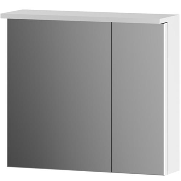 Зеркальный шкаф AM PM Spirit 60 M70MCX0601WG с подсветкой Белый зеркальный шкаф am pm spirit v2 0 60 с подсветкой l синий