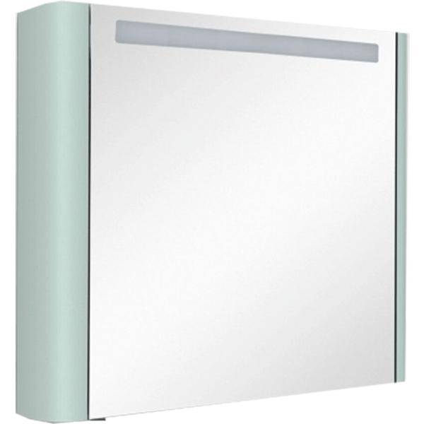 Зеркальный шкаф AM.PM Sensation 80 M30MCR0801GG с подсветкой Мятный зеркальный шкаф am pm sensation 80 петли слева белый глянцевый