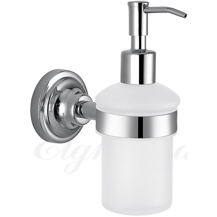 Фото - Дозатор жидкого мыла Elghansa Carrington CRG-470-New Хром дозатор для жидкого мыла siesta настенный хром сатин
