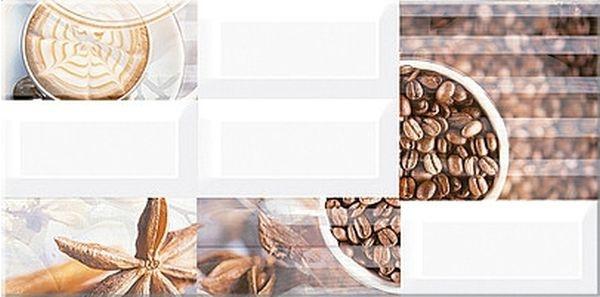 Керамический декор Azori Вог Арабика 20,1х40,5см керамический декор azori eclipse indigo mix 20 1х50 5 см