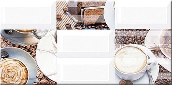 Керамический декор Azori Вог Латте 20,1х40,5см