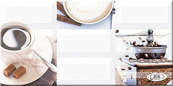 Керамический декор Azori Вог Эспрессо 20,1х40,5см