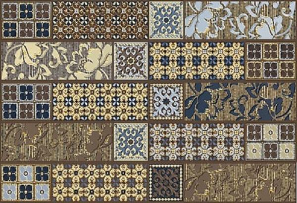 Фото - Керамический декор Azori Камлот Мокка Эйша 27,8х40,5см керамическая плитка azori камлот мокка эйша 5х40 5 бордюр