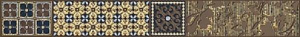 Фото - Бордюр Azori Камлот Мокка Эйша 5х40,5см керамическая плитка azori камлот мокка эйша 5х40 5 бордюр
