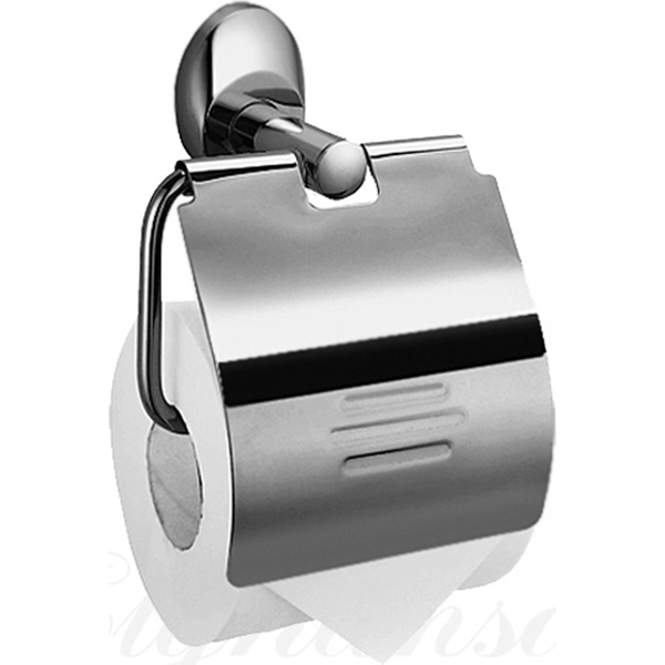 Держатель туалетной бумаги Elghansa Worringen WRG-300 с крышкой Хром держатель туалетной бумаги clever urban2 98652 хром