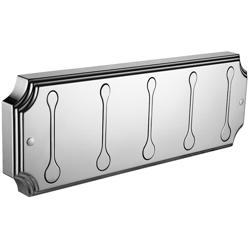 Вешалка для полотенец Elghansa Hermitage HRM-670-Chrome Хром nicerdicer chrome складные шкаф вешалка 5в1 95196