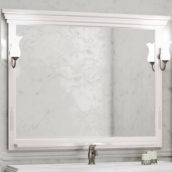 Фото - Зеркало Opadiris Риспекто 120 Z0000009684 Беленый бук мебель для ванной opadiris риспекто 105 беленый бук