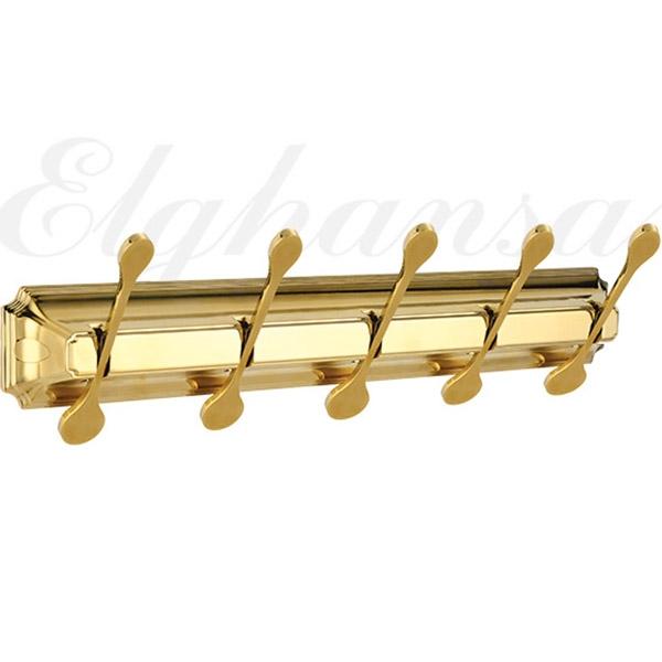 Вешалка для полотенец Elghansa Hermitage HRM-750-Gold Золото