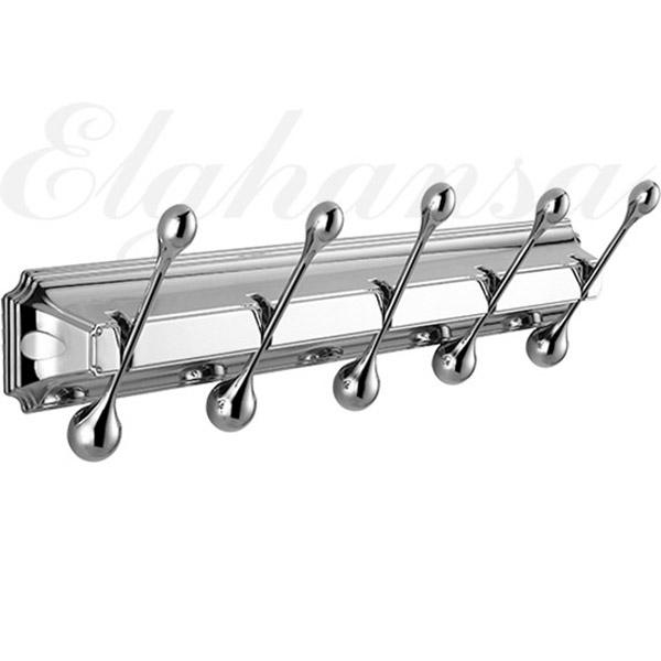 Вешалка для полотенец Elghansa Hermitage HRM-950 Хром вешалка для полотенец axentia настенная с 5 планками 58 х 15 5 х 70 см