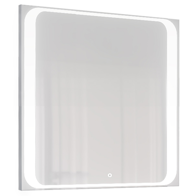 Зеркало Jorno Modul 80 Mоl.02.77/W с подсветкой с сенсорным выключателем