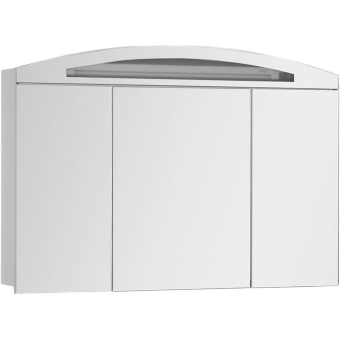 Зеркальный шкаф Aquanet Тренто 120 156500 с подсветкой Белый зеркальный шкаф bellezza миа 85 с подсветкой l белый