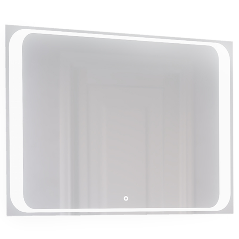 Зеркало Jorno Modul 100 Mоl.02.92/W с подсветкой с сенсорным выключателем