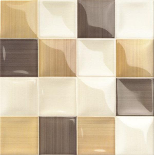 Керамическая плитка Mainzu Lucciola Volumen Cafe настенная 20х20см