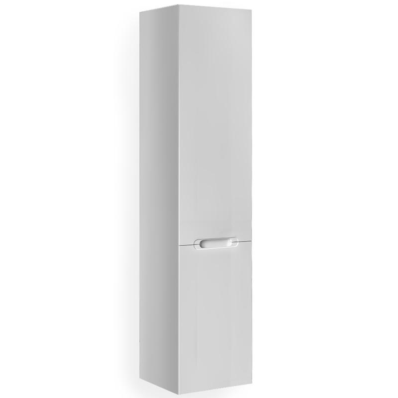 Шкаф пенал Jorno Modul 35 R Mоl.04.150/P/W подвесной Белый глянец