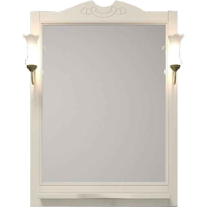 Фото - Зеркало Opadiris Тибет 70 Z0000004191 Беленый бук мебель для ванной opadiris риспекто 105 беленый бук