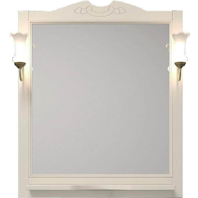 Фото - Зеркало Opadiris Тибет 80 Z0000004092 Беленый бук мебель для ванной opadiris риспекто 105 беленый бук