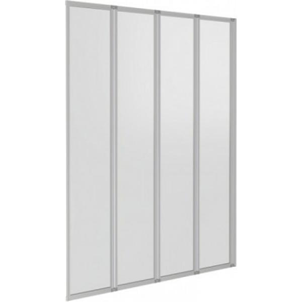 Шторка на ванну Good Door Screen GR4-100-C-CH 100 профиль Хром стекло прозрачное