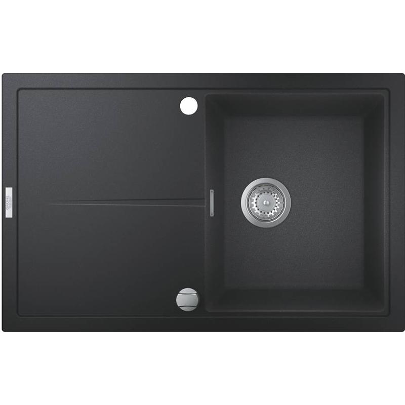 Кухонная мойка Grohe K400 78 31639AP0 Черный гранит