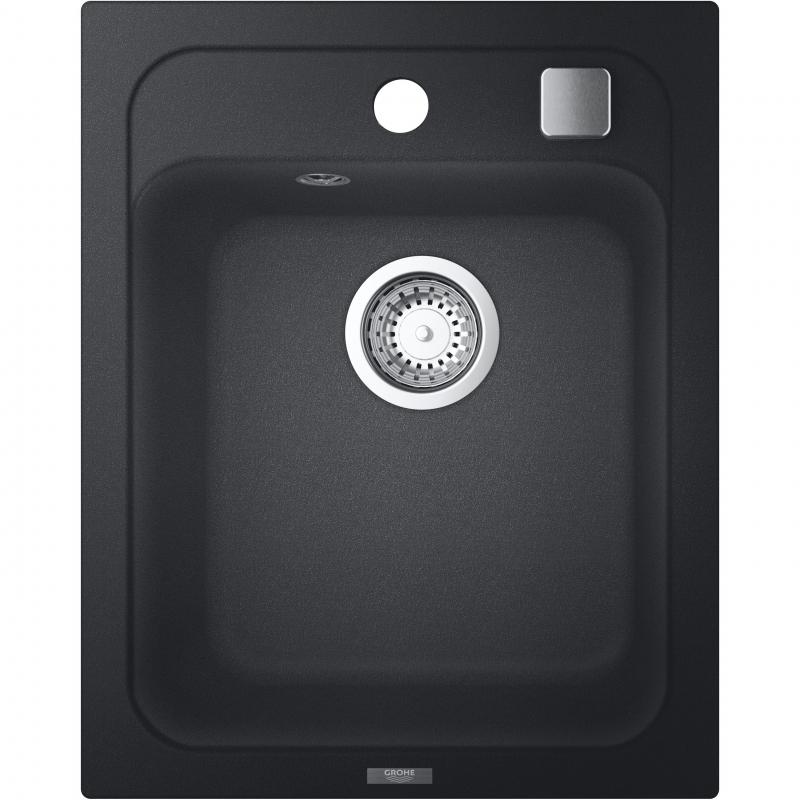 Кухонная мойка Grohe K700 40 31650AP0 Черный гранит кухонная мойка grohe k700 40 31650at0 серый гранит