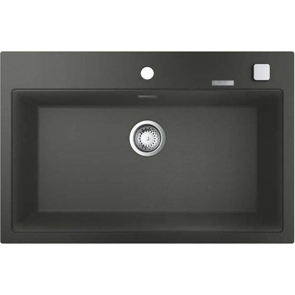Кухонная мойка Grohe K700 78 31652AT0 Серый гранит кухонная мойка grohe k700 40 31650at0 серый гранит