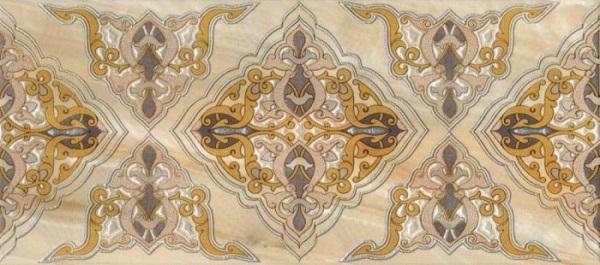 Фото - Керамический декор М-Квадрат Антарес Вензель 334463 20х45см м квадрат империал 7 5х25 бордюр 1 вензель 273761